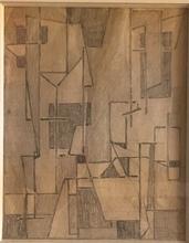 Geer VELDE VAN - Drawing-Watercolor - Composition
