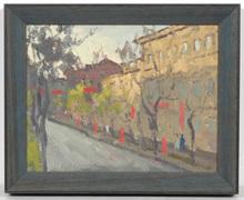 "Vladimir Grigor'evic VLASOV - Pintura - ""A Festive Day in Odessa"""