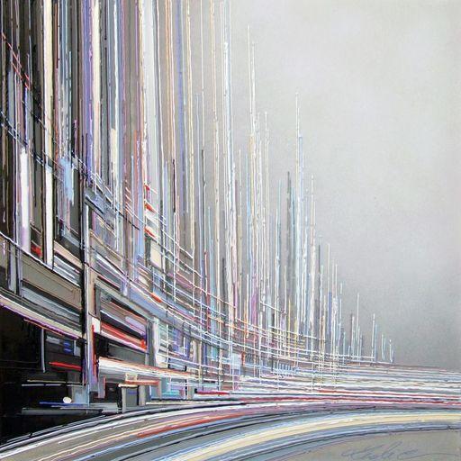 Leslie BERTHET LAVAL - Peinture - N°27 - Cité Urbaine