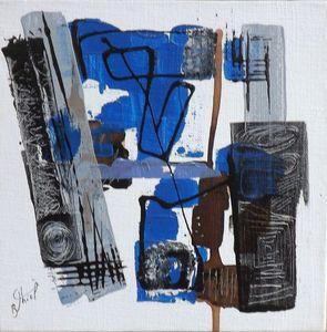 Benoit THIEL - Painting - ROD..
