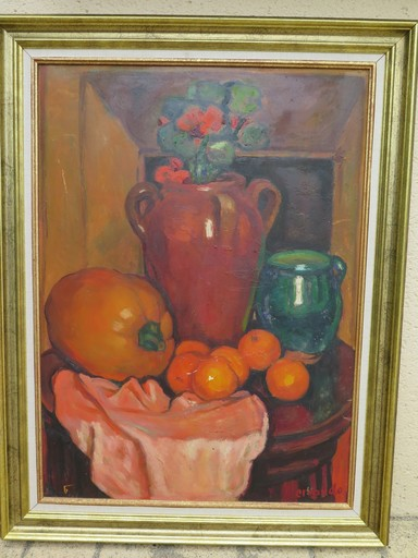 Augustin FERRANDO - Painting - nature morte
