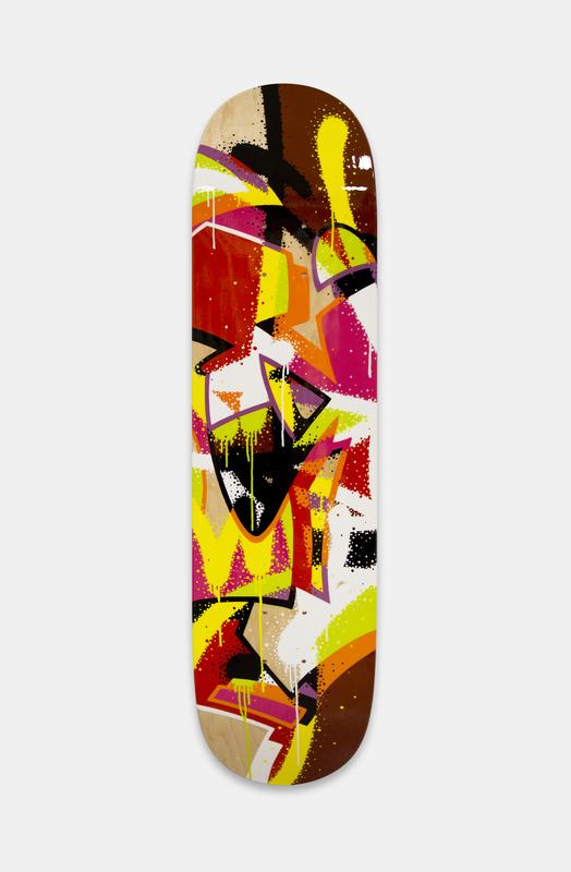 MIST - Pittura - Hoverboard II