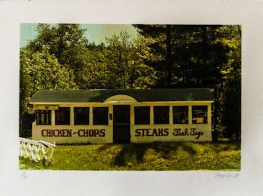 John BAEDER - Estampe-Multiple - Chicken Chops