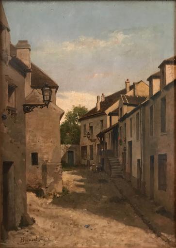 Henri Marie POINSOT - Painting - Vue de Pays