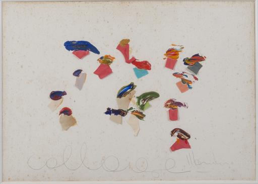 Aldo MONDINO - Peinture - Collage
