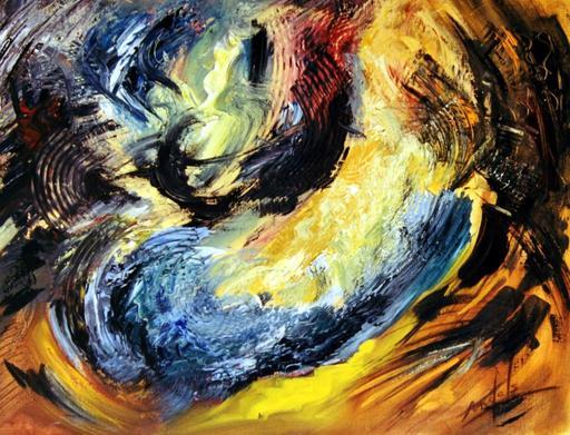 Didier ANGELS - Peinture - Tourments