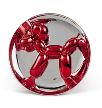 Jeff KOONS - Sculpture-Volume - Balloon Dog (Red)