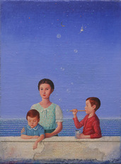 Claudio CARGIOLLI - Peinture - Bolle di sapone