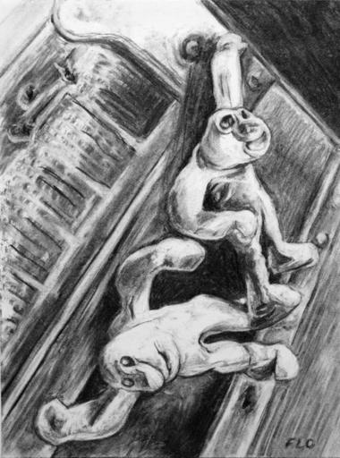 Flo JAOUEN - Drawing-Watercolor - « Il était un petit homme 2 »