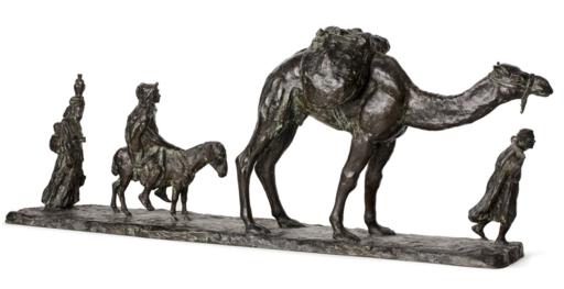 Eugène Léon L'HOEST - Sculpture-Volume - La grande caravane
