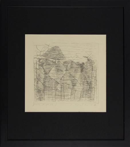Enrico DELLA TORRE - Druckgrafik-Multiple - Alberi in Versilia