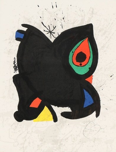 Joan MIRO - Estampe-Multiple