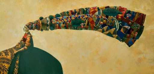 Bobur ISMOILOV - Peinture - Dreamer