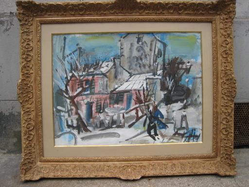 GEN PAUL - Drawing-Watercolor - LE LAPIN AGILE