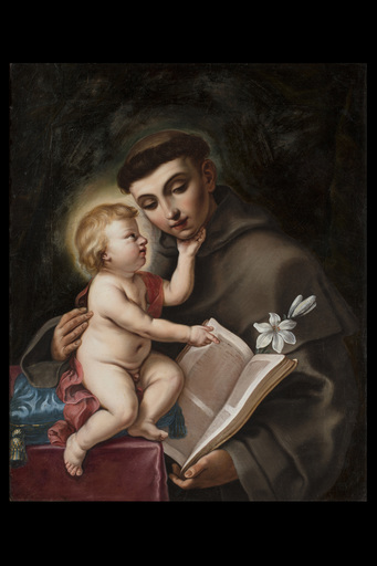 Giovanni Andrea & Elisabetta SIRANI - Painting - St. Anthony of Padua