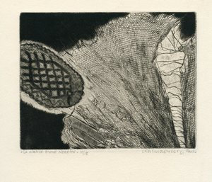 Horst Egon KALINOWSKI - Grabado - GRAVURE 1961 SIGNÉE CRAYON NUM/15 HANDSIGNED NUMB ETCHING