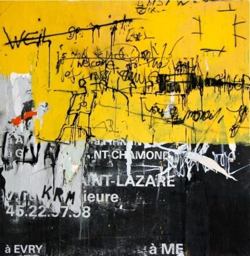 CHERIF & GEZA - Painting - Saint Lazare