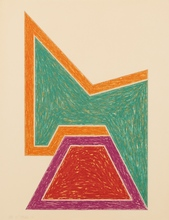 Frank STELLA - Estampe-Multiple - Wolfeboro (from the Eccentric Polygons series)