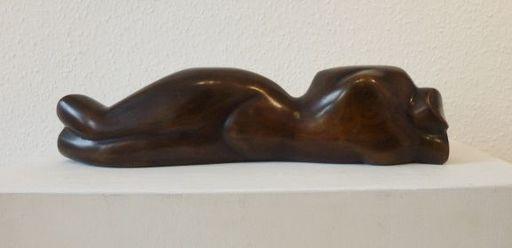 Margarete MOLL - Sculpture-Volume - Kleiner liegender weiblicher Torso