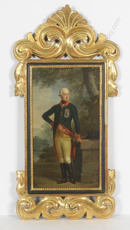 """Johann Baptist I VON LAMPI - Pintura - """"Kaiser Joseph II"""", late 1780s"""