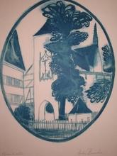 安德烈·布拉吉利 - 版画 - Bebenhausen,1981.