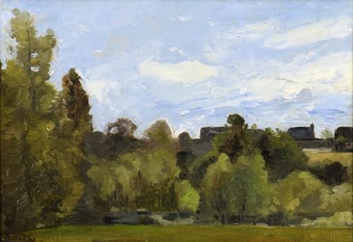 Camille PISSARRO - Painting - Lisière du Bois