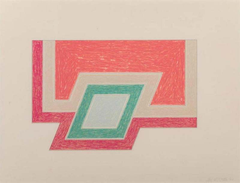 Frank STELLA - Print-Multiple - Conway