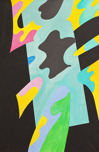 Guy DE ROUGEMONT - Painting - Untitled