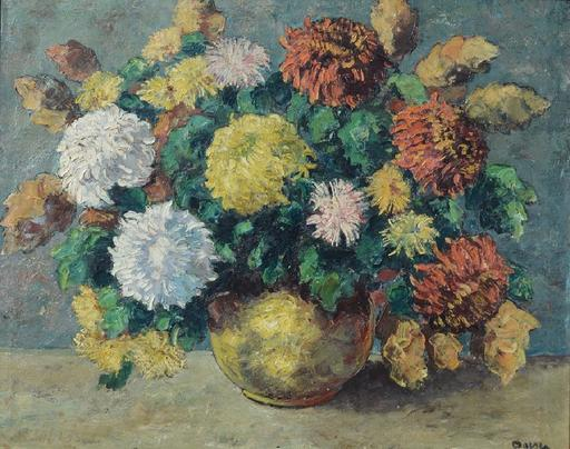Jacobus Johannes DOESER - Pintura - Floral still-life