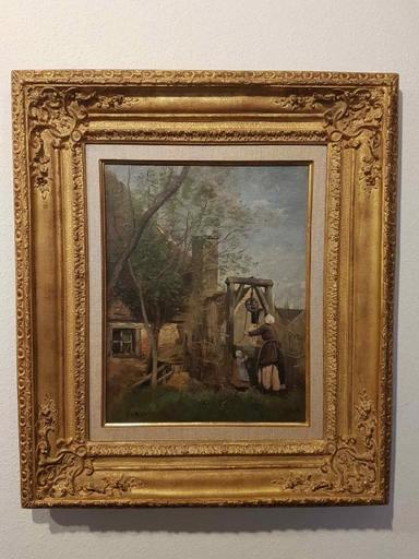 Camille Jean-Baptiste COROT - Painting - le Puits
