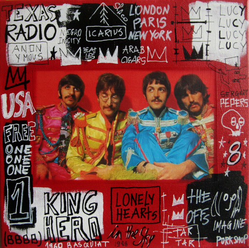 SPACO - Painting - lucy the beatles
