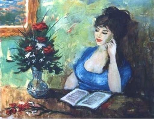Bertoldo TAUBERT - Gemälde - *Devant Le Bouqet En Fleurs