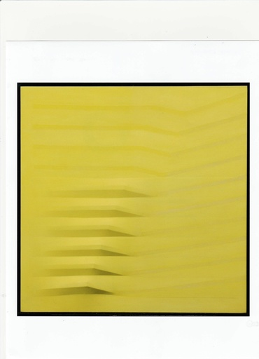 Agostino BONALUMI - Painting - TELA
