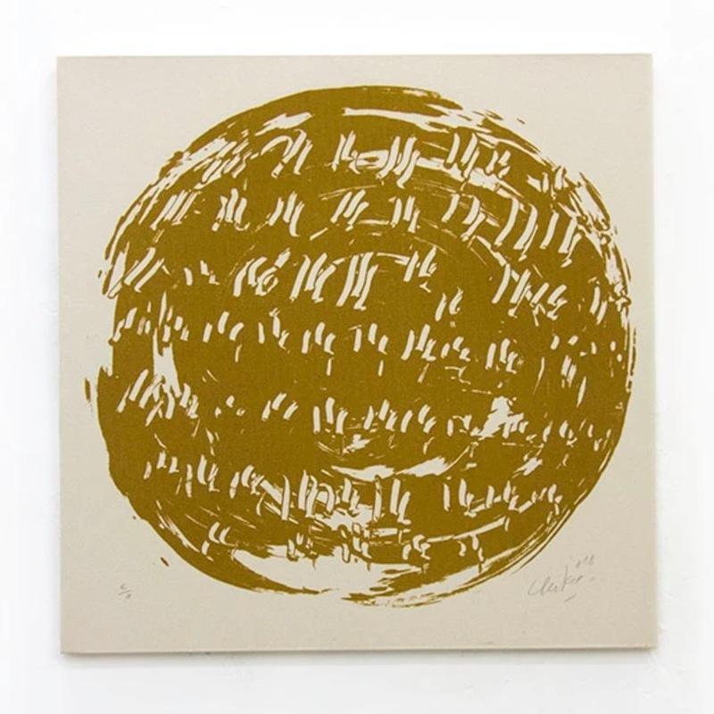 Günther UECKER - Print-Multiple - Ouroboros #12