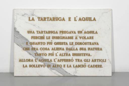 SALVO - Sculpture-Volume - LA tartaruga e l'aquila