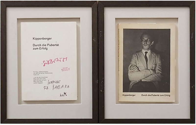 Martin KIPPENBERGER - Grabado - Durch die Pubertät zum Erfolg