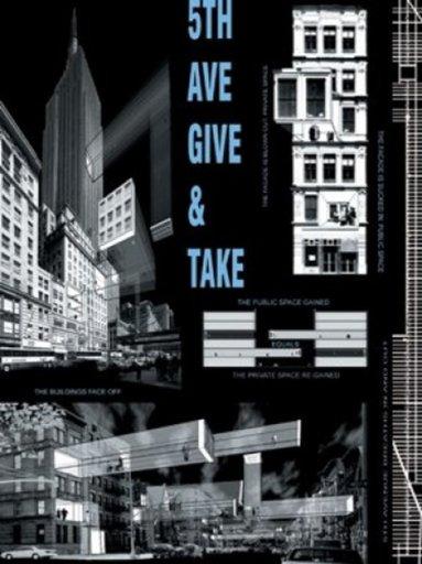 Vito ACCONCI - Print-Multiple - 5th Ave Give & Take