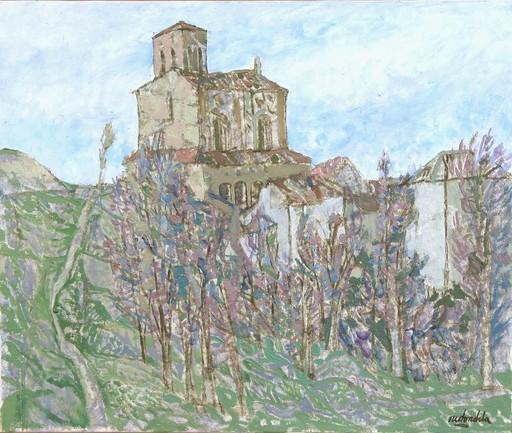 Agustín REDONDELA - Painting - Sepulveda