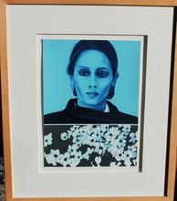 Jacques MONORY - Print-Multiple - Portrait de femme