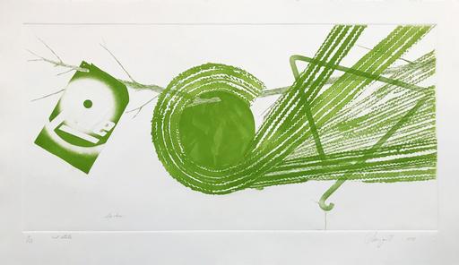 詹姆斯·罗森奎斯特 - 版画 - SPOKES: 2 STATE