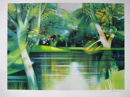 Camille HILAIRE - Print-Multiple - LITHOGRAPHIE ORIGINALE SIGNÉE CRAYON HANDSIGNED LITHOGRAPH