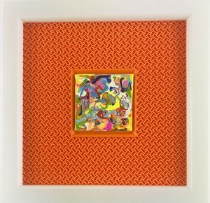 Nicole LEIDENFROST - Gemälde - Bunte Gedanken - klein