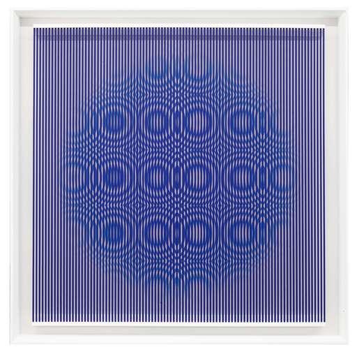 Alberto BIASI - Scultura Volume - Blue rain