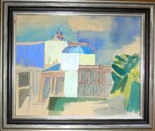 Jean DUFY - Peinture - Le casino de Nice