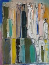 Mario SIRONI - Peinture - Figure