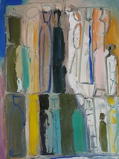 Mario SIRONI - Painting - Figure