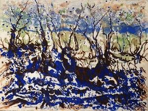 Rafael DE TOURS - Peinture - Brocéliande après 2013