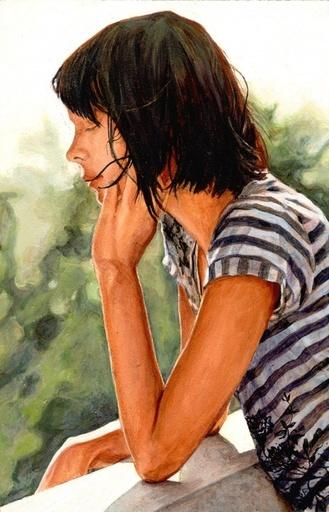 Amanda BESL - Painting - Wall