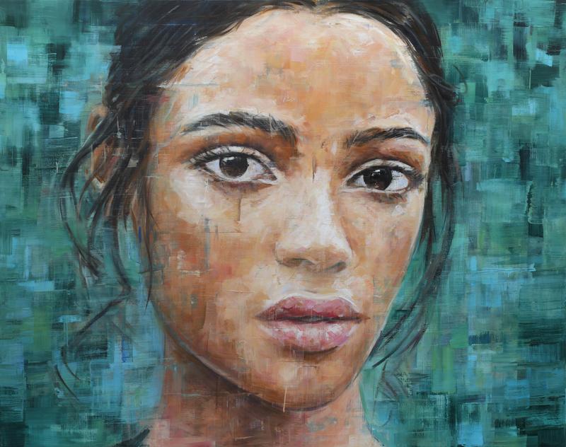 Harding MEYER - Pintura - o.T. (07-2018)