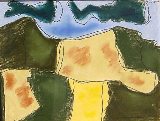 Luis SEOANE LOPEZ - Drawing-Watercolor - PAISAJE